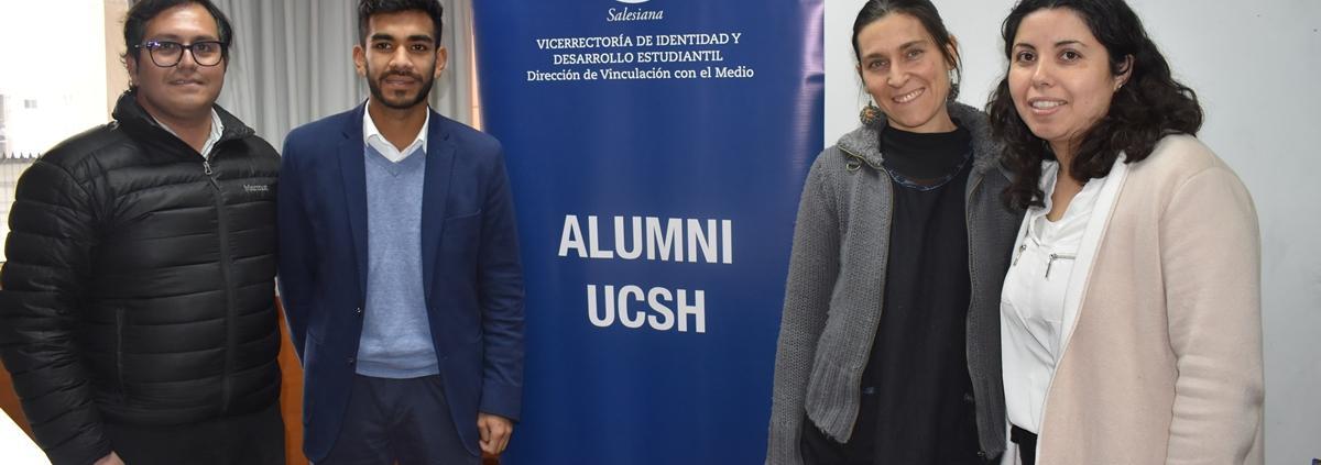 Equipo alumni y Escuela de Educación Parvularia UCSH